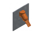 copper, weld, superficie