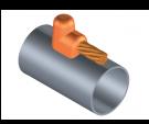 cable, copper, tubo, union