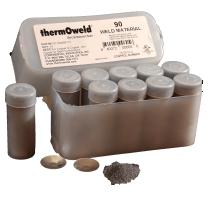 soldadura exotérmica, alumino termica, thermoweld, cadweld, tecnoweld