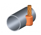 moldes, platina, cable, cobre, soldadura