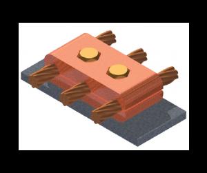 cubrimiento, cobre, difusión de corriente