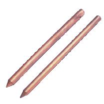 copperweld, cobre, pararrayos, puntas franklin