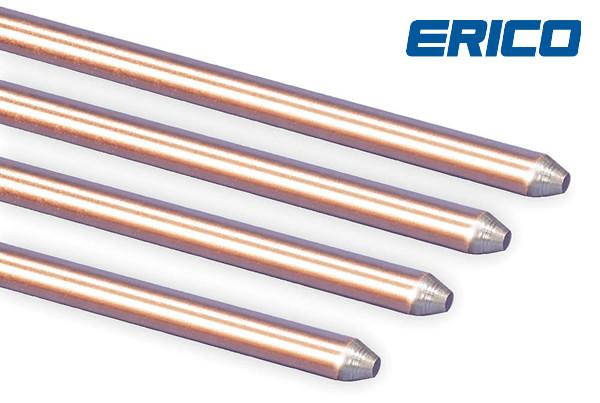 varillas de cobre electrolítico cooperweld