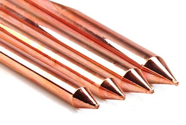 Varilla de cobre al 99.9% de pureza